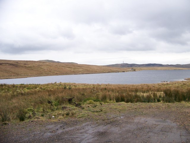 Loch Thom from the junction of Old Largs Road and the Cornalees Road