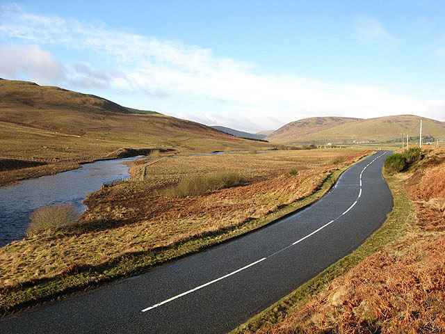 The road to Moffat