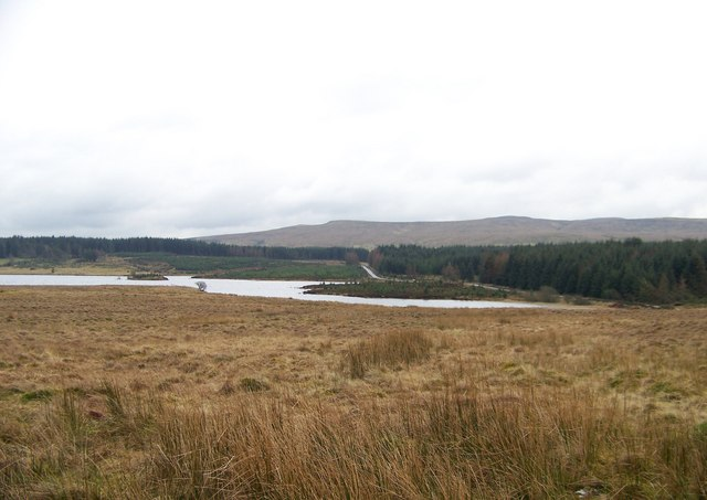 Gryfe Reservoir from Old Largs Road