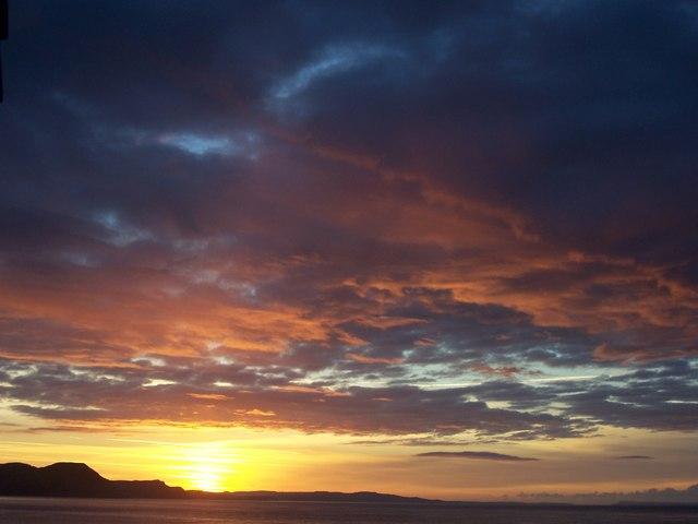 Charmouth at sunrise