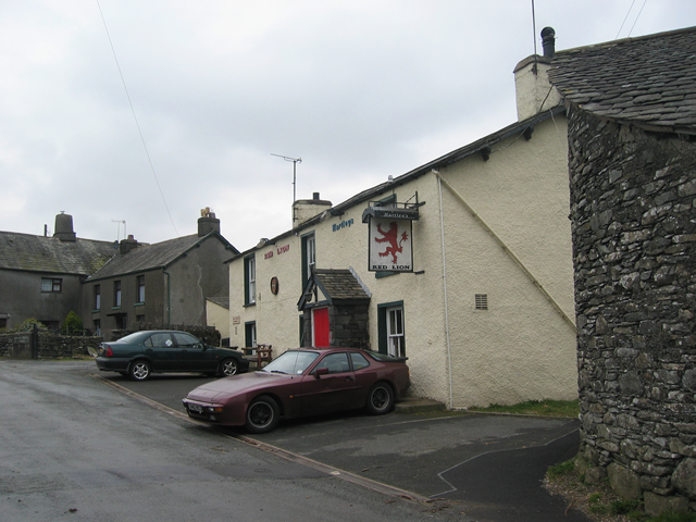 Red Lion at Lowick Bridge