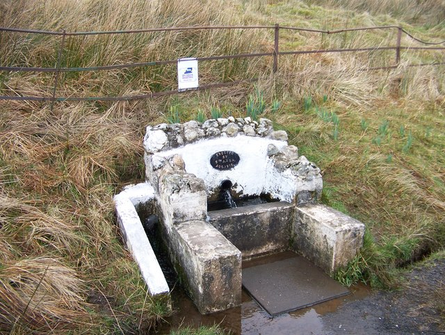 A well constructed by the Argyll and Sutherland Highlanders in 1915