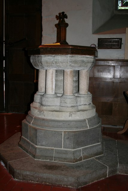 All Saints' church font
