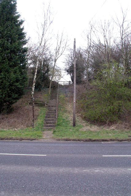 Footpath to Church Road