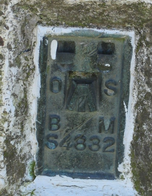 Plate on Langton Caudle triangulation point