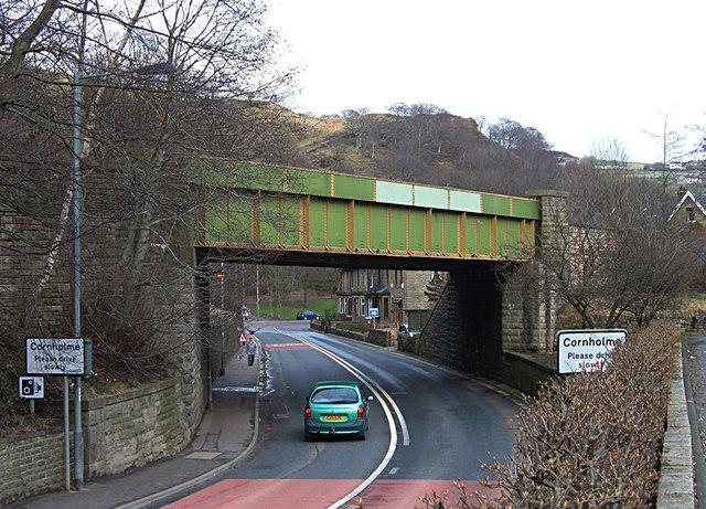 Railway Bridge, Cornholme