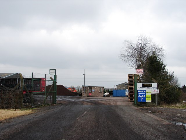 Entrance to Nutberry Moss Works