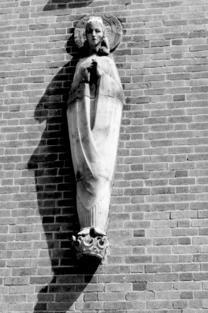 St Katherine statue