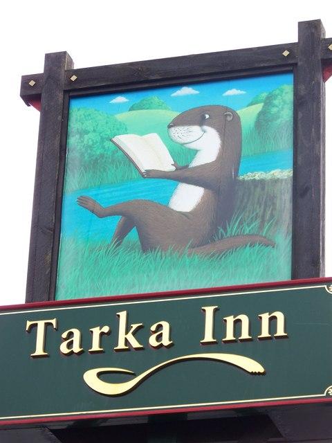 Sign for the Tarka Inn