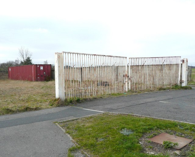 Redundant gates, Grange Moor, Whitley Upper