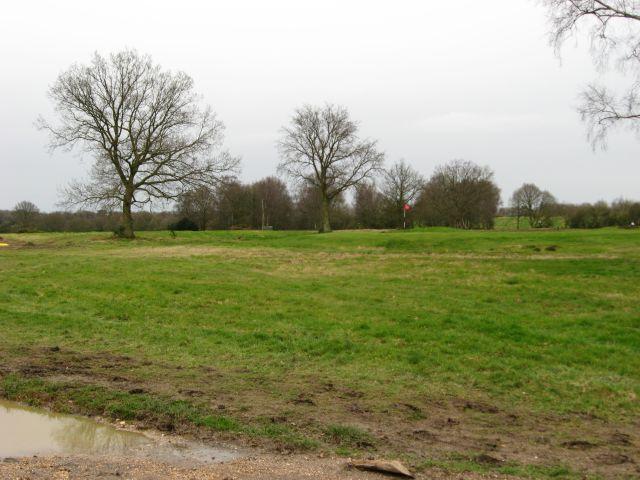 Footpath across Walton Heath golf course
