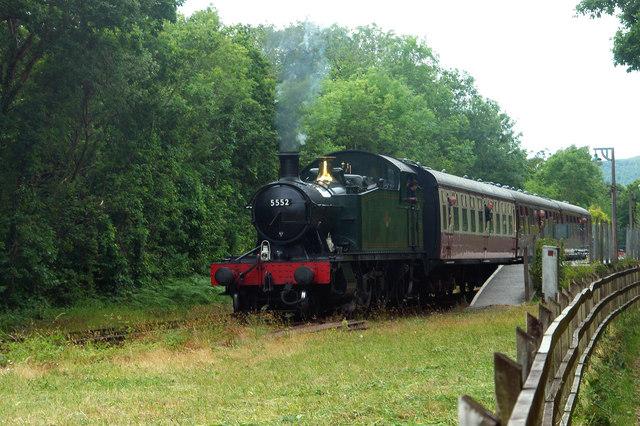 Leaving Boscarne Junction Station