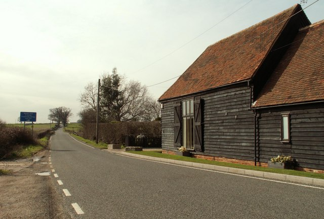 A barn conversion along Epping Lane