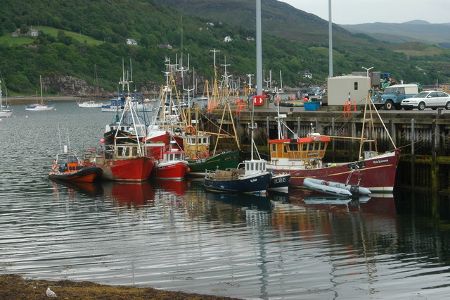 The harbour at Ullapool