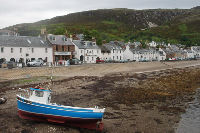 The seafront at Ullapool