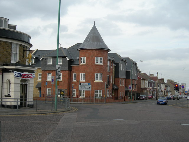 Corner of Trafalgar Road and Duncan Road, Gillingham
