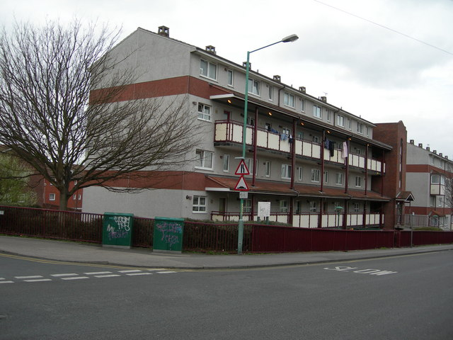 Flats on James Street, Gillingham