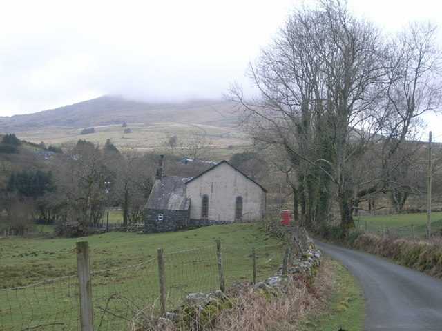 Lane to Cwm Pennant and Capel Pennant