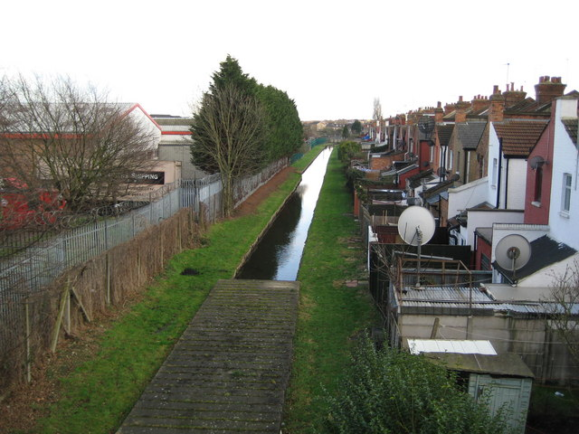 Grand Union Canal feeder channel in Wembley