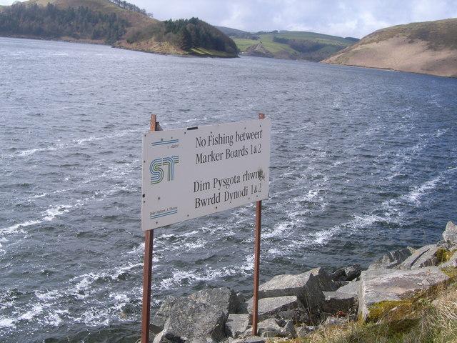 Near Bwlch y Gle dam, Llyn Clywedog
