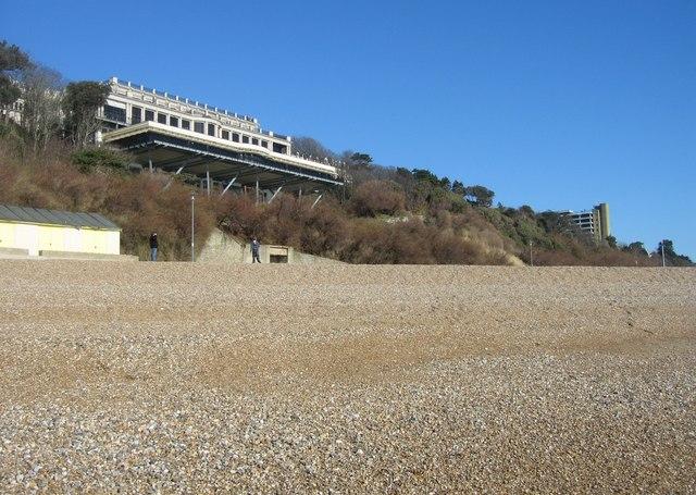 Pebble beach & Leas Cliff Hall