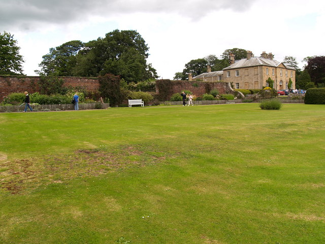 Newbrough Hall and Garden
