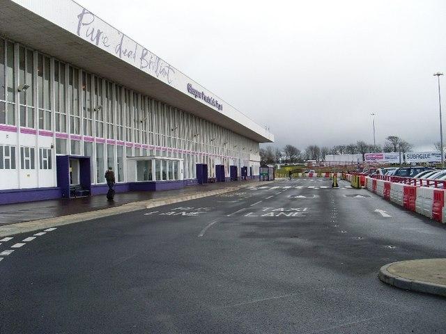 Prestwick Airport terminal building