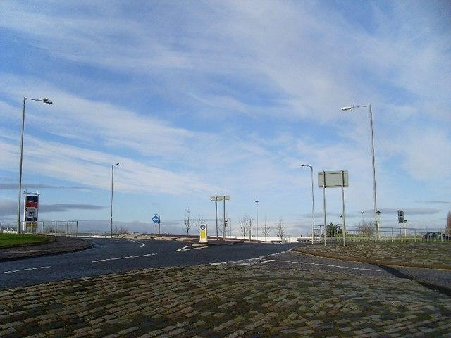 Montrose Street roundabout