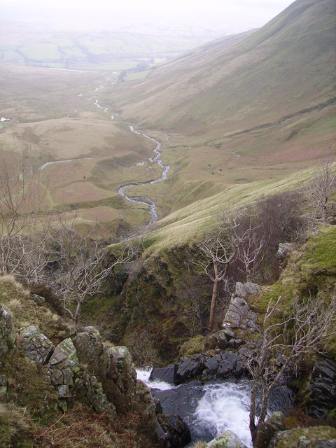 From Cautley Spout