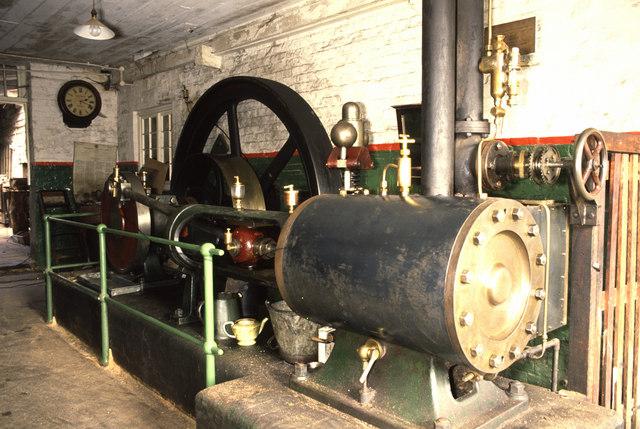 Englefield Estate Saw Mill, steam engine