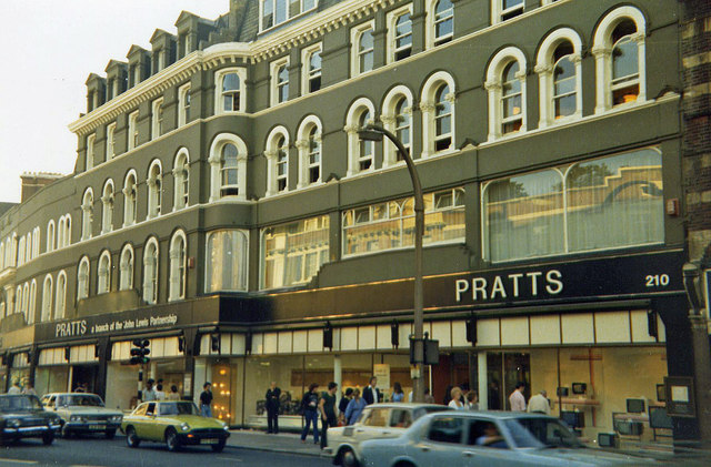 Pratts Department Store. Summer 1978