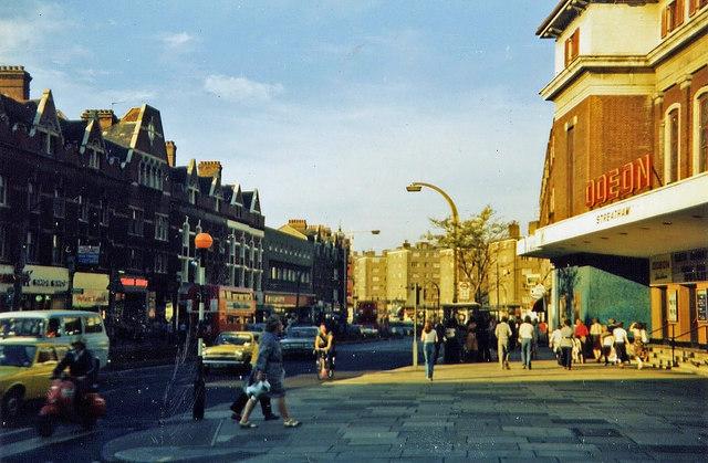 Streatham High Road, summer 1978