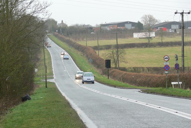 South along the A426 Lutterworth Road