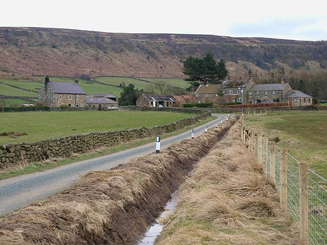 Two farms, Fryup Dale