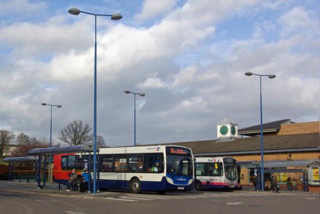 Crystal Peaks Bus Station