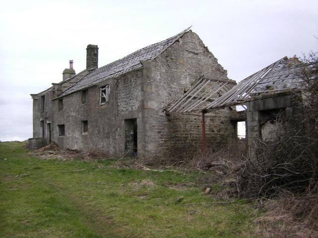 Farm Ruin , near Ellel Crag