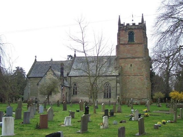 St. Peter, Elford