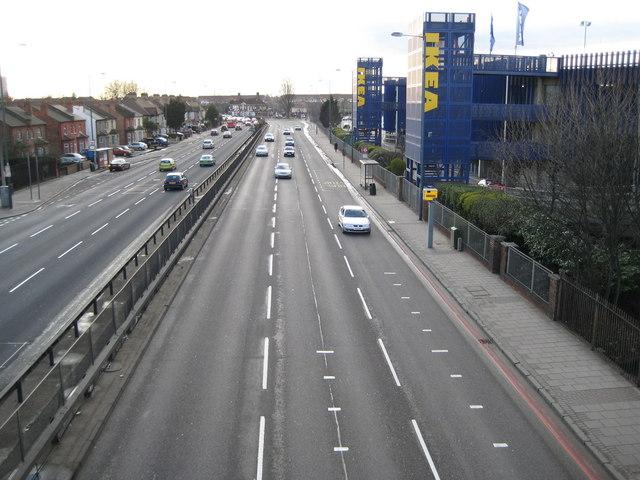 Wembley: A406 North Circular Road