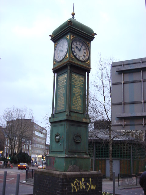 Clock tower, Angel