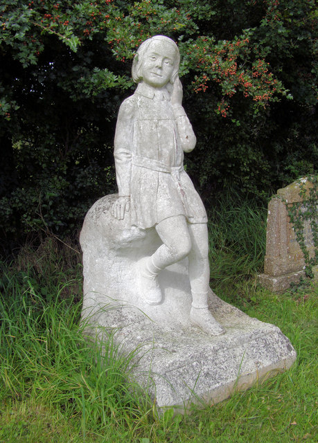 Childs Tombstone, Boldre Church, Hampshire