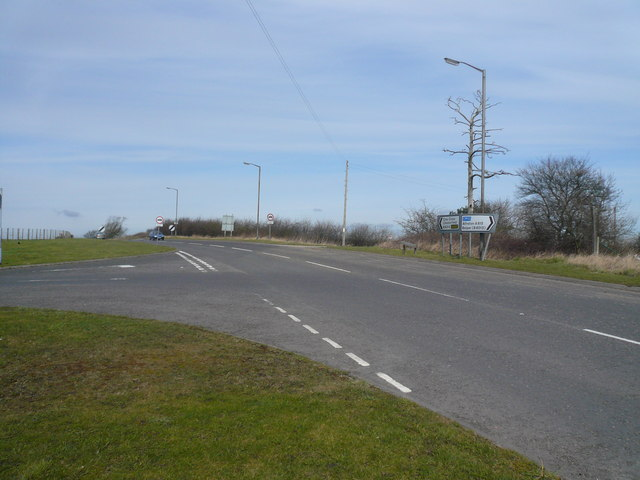 Dale Hill (A615) - Junction with the B6013