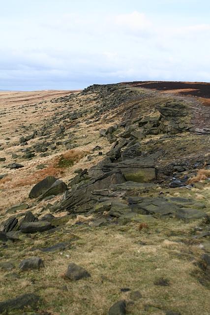 Pennine Way on Castleshaw Moor (1)