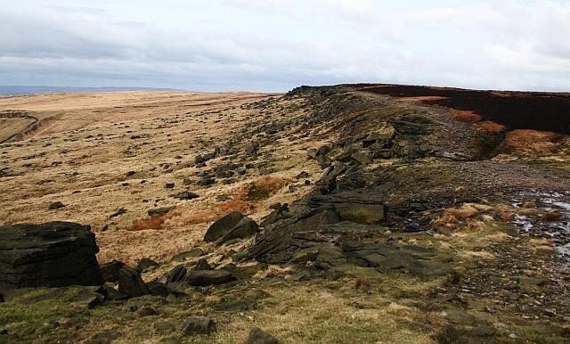 Pennine Way on Castleshaw Moor (2)