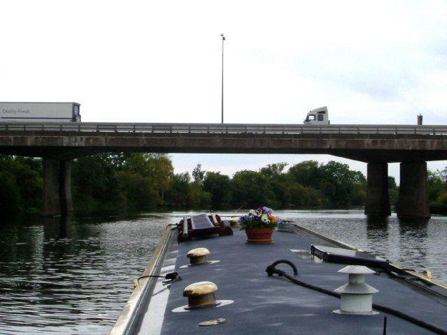M1 bridge over the River Trent