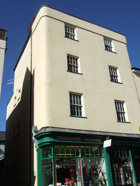 Building on Fore Street, Exeter