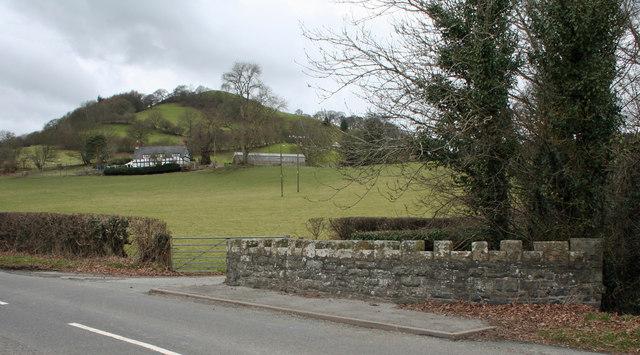 Llwynderw to the foot of Y Foel