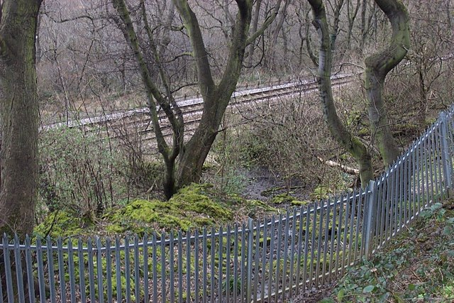 Strangstry Quarry Track at the Railway