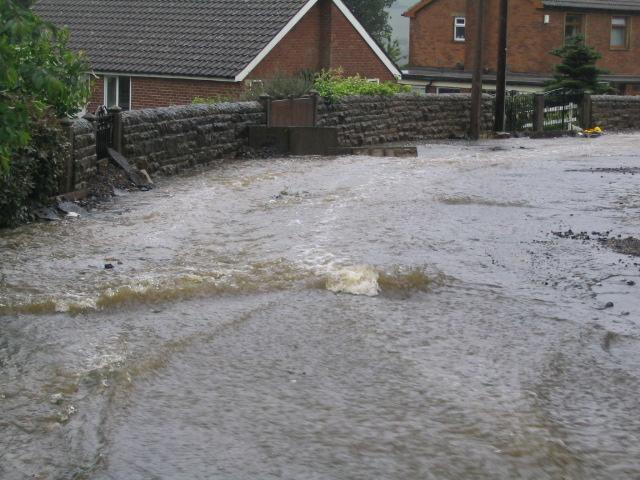 Floods in Stocksbridge