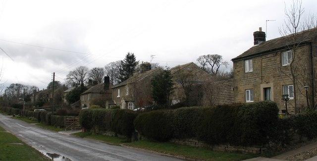 Healey village street