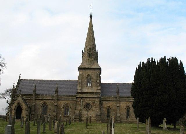 St Paul's church Healey